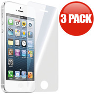 *SALE* HD Premium Round Edge Tempered Glass Screen Protector for iPhone SE / 5S / 5C / 5 - 3 Pack