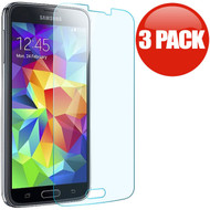 *SALE* HD Premium Round Edge Tempered Glass Screen Protector for Samsung Galaxy S5 - 3 Pack