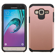 Hybrid Multi-Layer Armor Case for Samsung Galaxy Amp Prime / Express Prime / J3 / Sol - Rose Gold