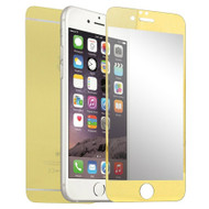 *Sale* Premium Round Edge Tempered Glass Screen Protector for iPhone 6 / 6S - Gold Front & Back