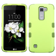 *Sale* Military Grade TUFF Hybrid Armor Case for LG K7 / K8 / Escape 3 / Treasure LTE / Tribute 5 - Green Tea Olive