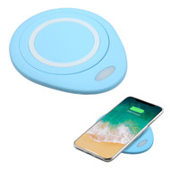 Wireless Charger Qi Inductive Charging Pad - Blue