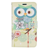 *Sale* Executive Graphic Leather Wallet Case for LG G Stylo / Vista 2 - Owl