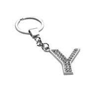 *Sale* Glamorous Alphabet Keychain - Letter Y