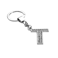 *Sale* Glamorous Alphabet Keychain - Letter T