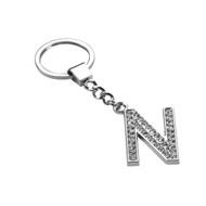 Glamorous Alphabet Keychain - Letter N