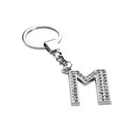 Glamorous Alphabet Keychain - Letter M