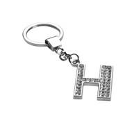 *Sale* Glamorous Alphabet Keychain - Letter H