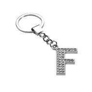 Glamorous Alphabet Keychain - Letter F