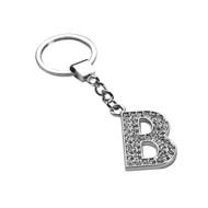 Glamorous Alphabet Keychain - Letter B