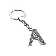 Glamorous Alphabet Keychain - Letter A