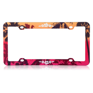 License Plate Frame - Hawaiian Sunset