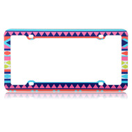 *Sale* License Plate Frame - Aztec Tribal