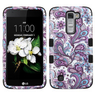 *Sale* Military Grade TUFF Hybrid Case for LG K7 / K8 / Escape 3 / Treasure LTE / Tribute 5 - Persian Paisley
