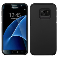 Hybrid Multi-Layer Armor Case for Samsung Galaxy S7 - Black