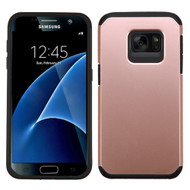 Hybrid Multi-Layer Armor Case for Samsung Galaxy S7 - Rose Gold