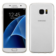 Rubberized Crystal Case for Samsung Galaxy S7 - Clear