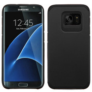 Hybrid Multi-Layer Armor Case for Samsung Galaxy S7 Edge - Black