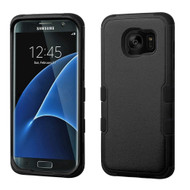 Military Grade TUFF Hybrid Case for Samsung Galaxy S7 Edge - Black