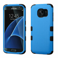 Military Grade TUFF Hybrid Case for Samsung Galaxy S7 Edge - Blue