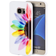 Graphic Rubberized Protective Gel Case for Samsung Galaxy S7 - Sunrise