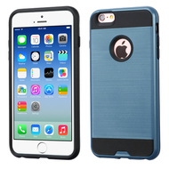Brushed Hybrid Armor Case for iPhone 6 / 6S - Ink Blue