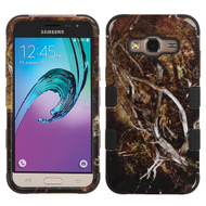 Military Grade TUFF Image Hybrid Armor Case for Samsung Galaxy Amp Prime / Express Prime / J3 / Sol - Tree