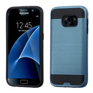 Brushed Hybrid Armor Case for Samsung Galaxy S7 - Ink Blue