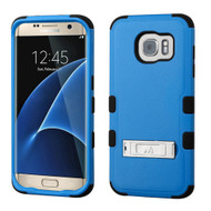 Military Grade Certified TUFF Hybrid Kickstand Case for Samsung Galaxy S7 Edge - Blue