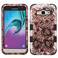*SALE* Military Grade TUFF Image Hybrid Armor Case for Samsung Galaxy Amp Prime / Express Prime / J3 / Sol - Leaf Clover