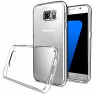 Ultra Hybrid Shock Absorbent Crystal Case for Samsung Galaxy S7 - Clear