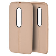 *$1 SALE* Slim Jacket TPU Case for Motorola Moto G 3rd Generation - Gold