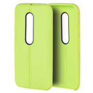 *Sale* Slim Jacket TPU Case for Motorola Moto G 3rd Generation - Green