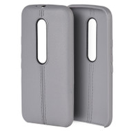 *Sale* Slim Jacket TPU Case for Motorola Moto G 3rd Generation - Grey