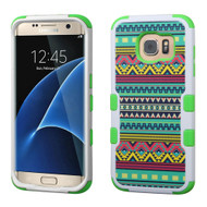 TUFF Image Hybrid Case for Samsung Galaxy S7 Edge - Tribal Sun