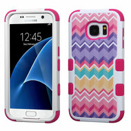Military Grade Certified TUFF Image Hybrid Case for Samsung Galaxy S7 - Camo Wave