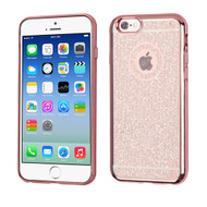 Electroplating Sparkling Frost TPU Case for iPhone 6 / 6S - Rose Gold