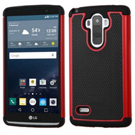 TotalDefense Hybrid Case for LG G Stylo / Vista 2 - Red