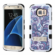 Military Grade Certified TUFF Image Hybrid Kickstand Case for Samsung Galaxy S7 Edge - Persian Paisley