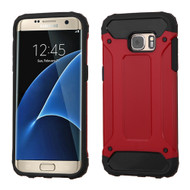Extreme Armor Hybrid Case for Samsung Galaxy S7 Edge - Red