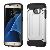 Extreme Armor Hybrid Case for Samsung Galaxy S7 Edge - Silver