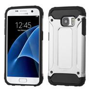 Extreme Armor Hybrid Case for Samsung Galaxy S7 - Silver