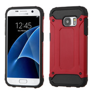 Extreme Armor Hybrid Case for Samsung Galaxy S7 - Red