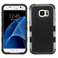 Military Grade Certified TUFF Image Hybrid Case for Samsung Galaxy S7 - Carbon Fiber