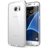 Ultra Hybrid Shock Absorbent Crystal Case for Samsung Galaxy S7 Edge - Clear