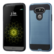 Brushed Hybrid Armor Case for LG G5 - Ink Blue