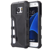 *Sale* Hyper Sport Dual Hybrid Armor Case for Samsung Galaxy S7 - Black