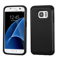 TotalDefense Hybrid Case for Samsung Galaxy S7 - Black