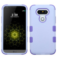 Military Grade Certified TUFF Hybrid Armor Case for LG G5 - Lavender Purple