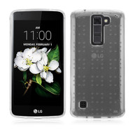 Perforated Transparent Cushion Gelli Case for LG K7 / K8 / Escape 3 / Treasure LTE / Tribute 5 - Clear